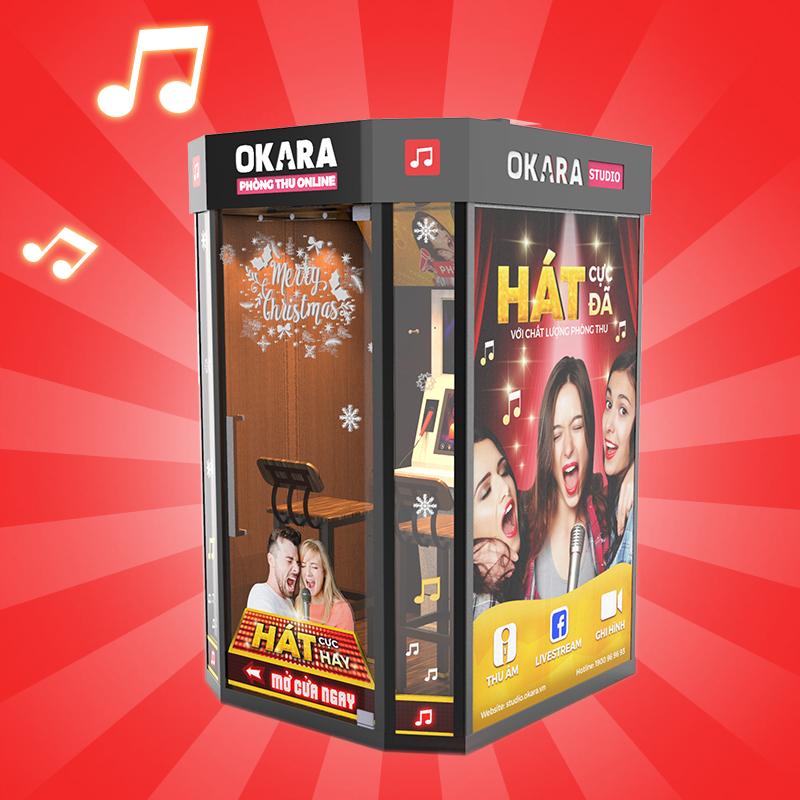 Đầu karaoke Online Okara Pro
